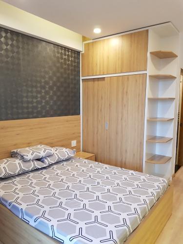 Phòng ngủ căn hộ Hưng Phúc Căn hộ Happy Residence nội thất đầy đủ, ban công rộng rãi.