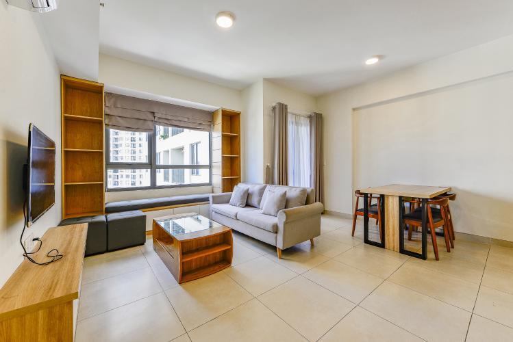 Căn hộ Masteri Thảo Điền 2 phòng ngủ tầng cao T3 nội thất đầy đủ