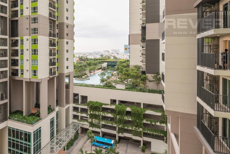 View Căn hộ Vista Verde 2 phòng ngủ tầng thấp Orchid view nội khu