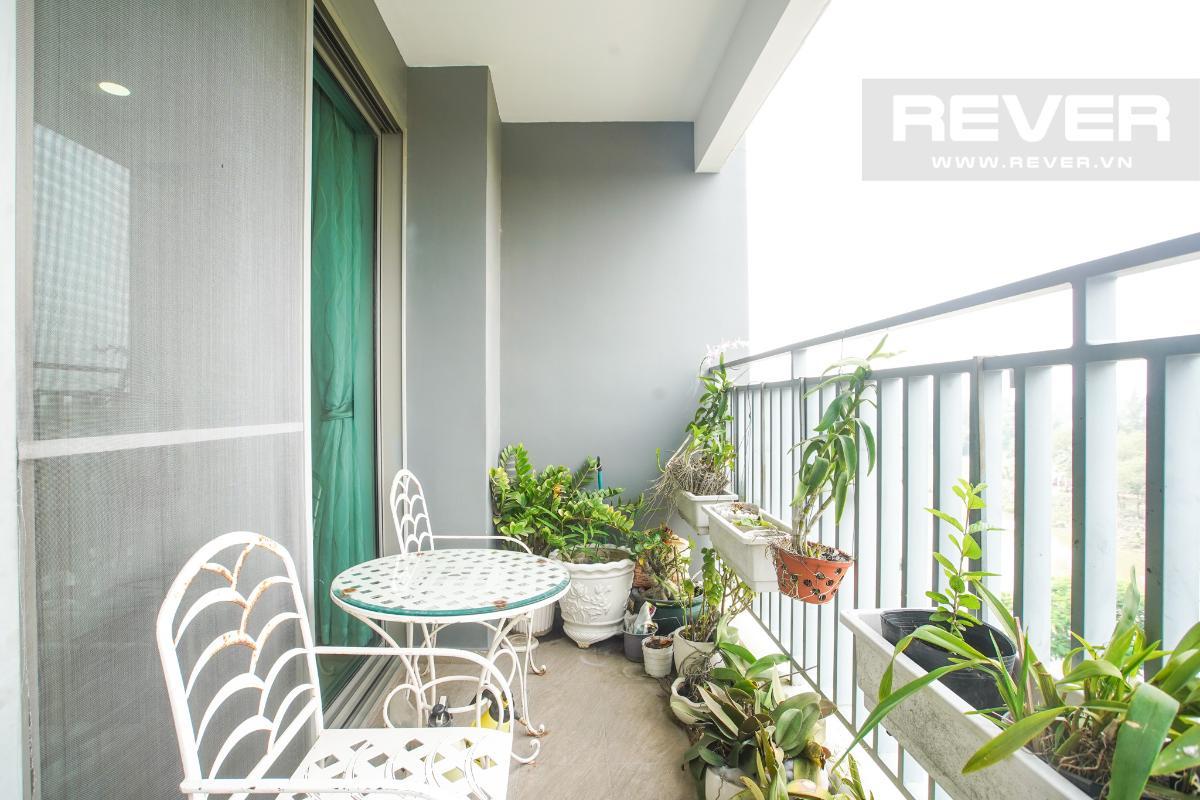 Ban Công Bán căn hộ Riviera Point 3PN, diện tích 146m2, đầy đủ nội thất, hướng Đông Bắc, view thoáng mát