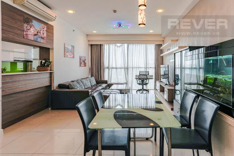 Phòng Ăn Căn hộ Sunrise City tầng thấp, tháp V6, 3 phòng ngủ, full nội thất