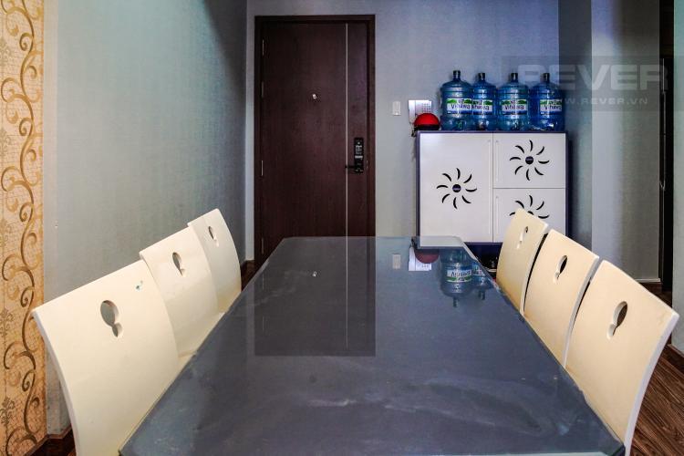 Phòng Ăn Bán căn hộ 3PN Lexington Residence, tháp LA, diện tích 111m2, view hồ bơi và đại lộ Mai Chí Thọ