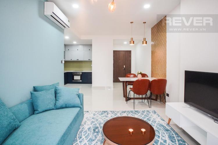 Cho thuê căn hộ Saigon Royal 2PN, tầng 21, tháp A, diện tích 88m2, đầy đủ nội thất, view thoáng