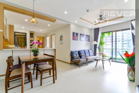 Cho thuê căn hộ New City 60m2 3PN 2WC, view nội khu, nội thất tiện nghi