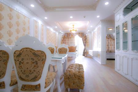 Căn hộ Vista Verde 2 phòng ngủ tầng cao T1 đầy đủ nội thất