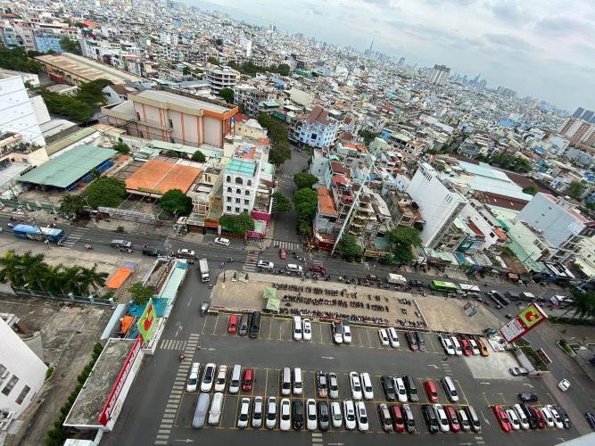 View căn hộ Oriental Plaza, Tân Phú Căn hộ chung cư Oriental Plaza hướng Tây Nam, view thành phố sầm uất.