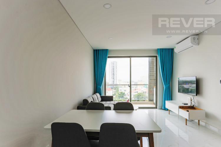Phòng Ăn Căn hộ An gia Skyline 2 phòng ngủ tầng thấp nội thất đầy đủ
