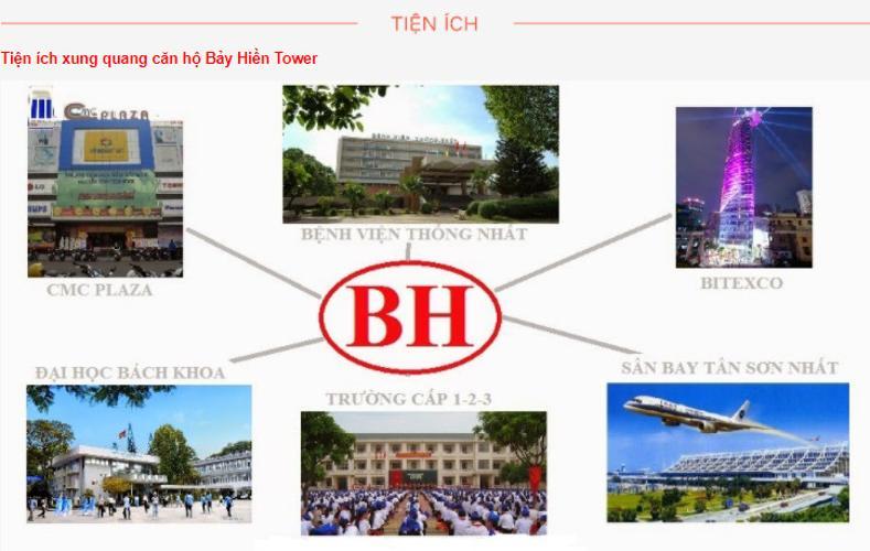 Bảy Hiền Tower, Tân Bình Căn hộ Bảy Hiền Tower tầng  trung, view Bitexco tuyệt đẹp.