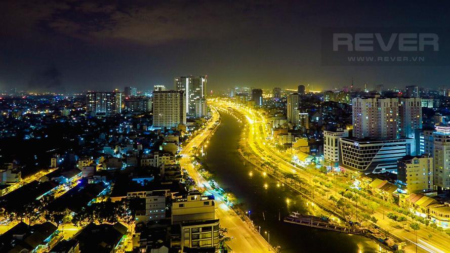 View Căn hộ RiverGate Residence tầng cao, 2PN, đầy đủ nội thất, view kênh Bến Nghé