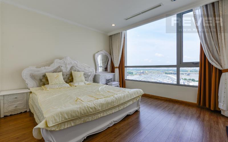 Phòng ngủ 1 Căn hộ 3 phòng ngủ tiện nghi, đẳng cấp tại The Central 1, Vinhomes Central Park