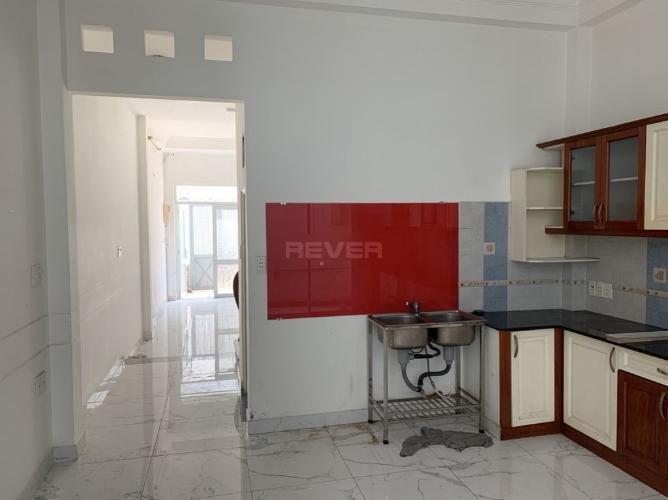 Phòng bếp nhà phố Thích Quảng Đức, Phú Nhuận Nhà phố hẻm 4m hướng Tây Nam, bàn giao sổ hồng riêng.
