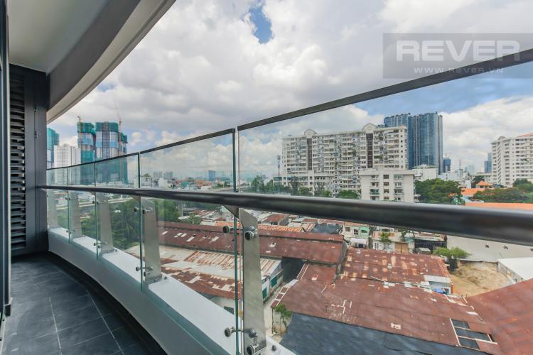 Balcony Bán hoặc cho thuê căn hộ City Garden 1PN, tầng thấp, diện tích 65m2, đầy đủ nội thất