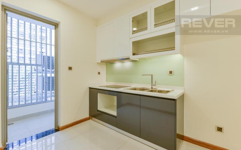 bếp Căn OfficeTel Vinhomes Central Park 1 phòng ngủ tầng thấp Park 1 nội thất cơ bản