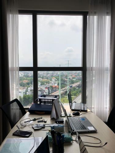 View căn office-tel The Sun Avenue Căn hộ Officetel The Sun Avenue tầng cao, view thành phố sầm uất