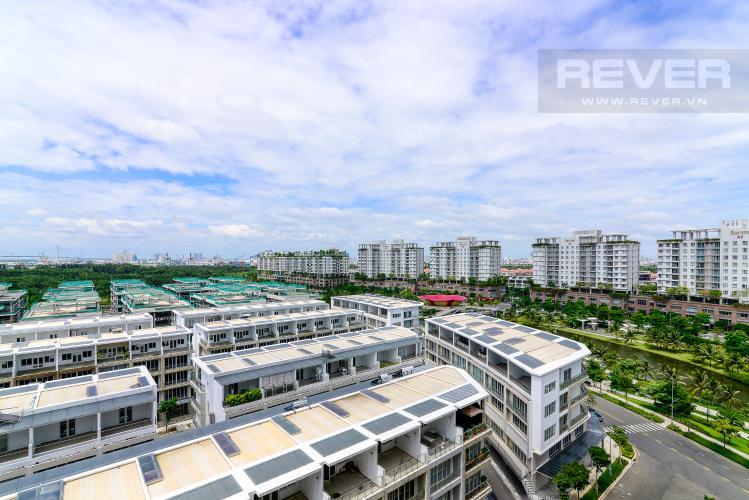 View Cho thuê căn hộ Sari Town Sala Đại Quang Minh 3PN, tầng thấp, nội thất cơ bản, hướng Đông Nam đón gió