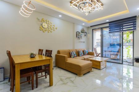 Căn hộ The Gold View tầng trung tháp A1, 2 phòng ngủ, full nội thất