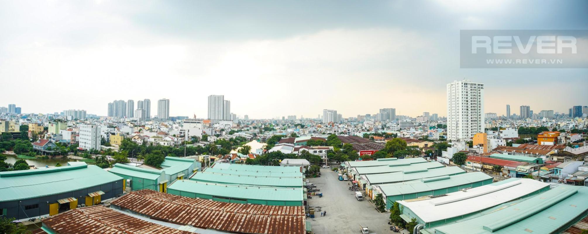 view phòng ngủ master Cho thuê căn hộ M-One Nam Sài Gòn 3PN, tầng 9, tháp T1, đầy đủ nội thất, view thoáng