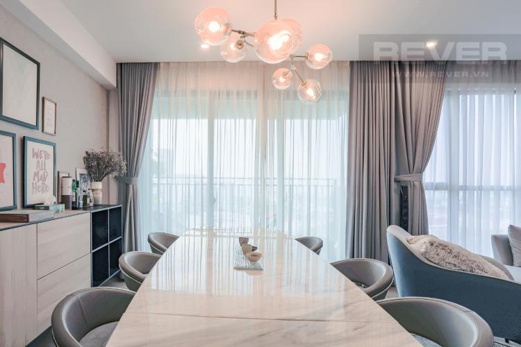 Phòng Ăn Căn hộ Riviera Point 3PN nội thất đầy đủ, có thể dọn vào ở ngay