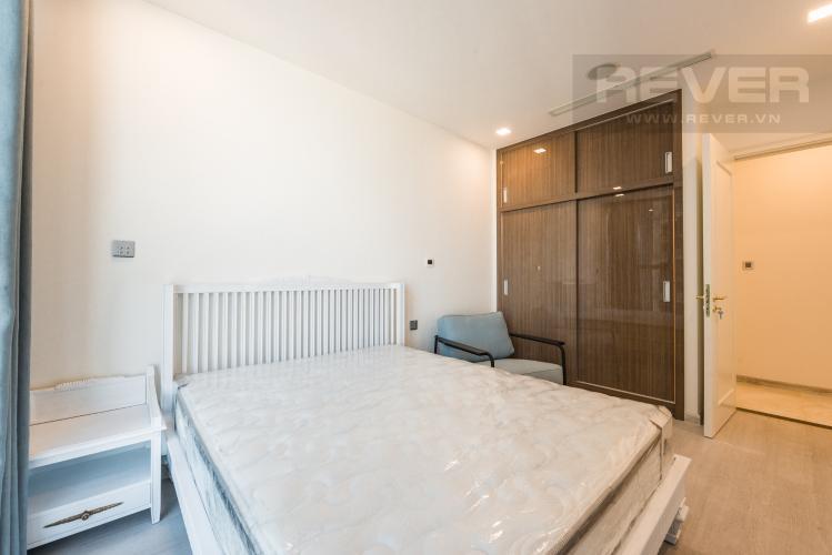 Phòng ngủ Căn hộ Vinhomes Golden River 1PN, đầy đủ nội thất, có thể dọn vào ở ngay
