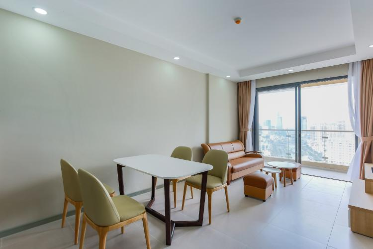 Căn hộ The Gold View 2 phòng ngủ tầng cao A3 view sông