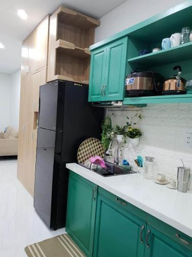 Phòng bếp Căn hộ Officetel D-Vela Bán officetel D-Vela, tầng thấp, 1 phòng ngủ - diện tích 34m2, không kèm nội thất.