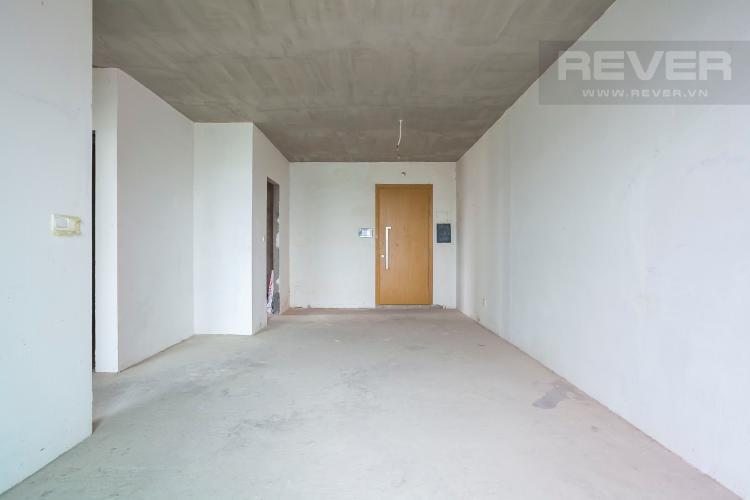 Tổng Quan Căn góc Vista Verde 2 phòng ngủ tầng cao T1 nhà giao thô, chưa ở