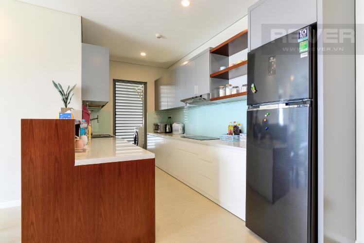 Nhà Bếp Cho thuê căn hộ Đảo Kim Cương 2PN tầng trung tháp Bora Bora, đầy đủ nội thất, view sông yên tĩnh
