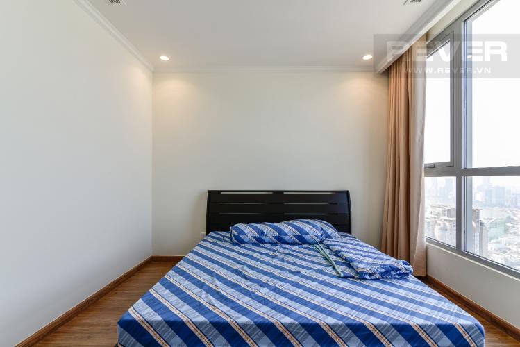 Phòng Ngủ 1 Căn hộ Vinhomes Central Park 2 phòng ngủ tầng cao C3 nội thất đầy đủ