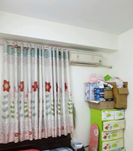 Phòng ngủ căn hộ chung cư An Hội 3, Gò Vấp Căn hộ chung cư An Hội 3 bàn giao nội thất cơ bản, hướng Tây Nam.