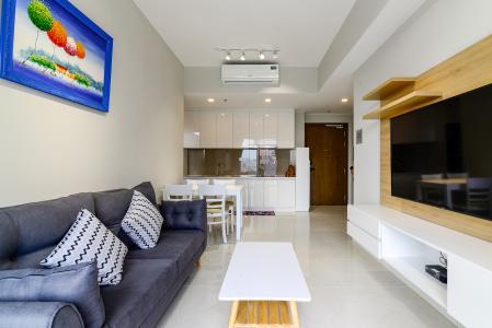 Cho thuê căn hộ Masteri An Phú 2PN, tầng thấp, tháp B, view hồ bơi và Xa lộ Hà Nội