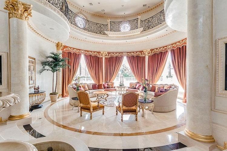 Paris Hoàng Kim - Phòng tiếp khách