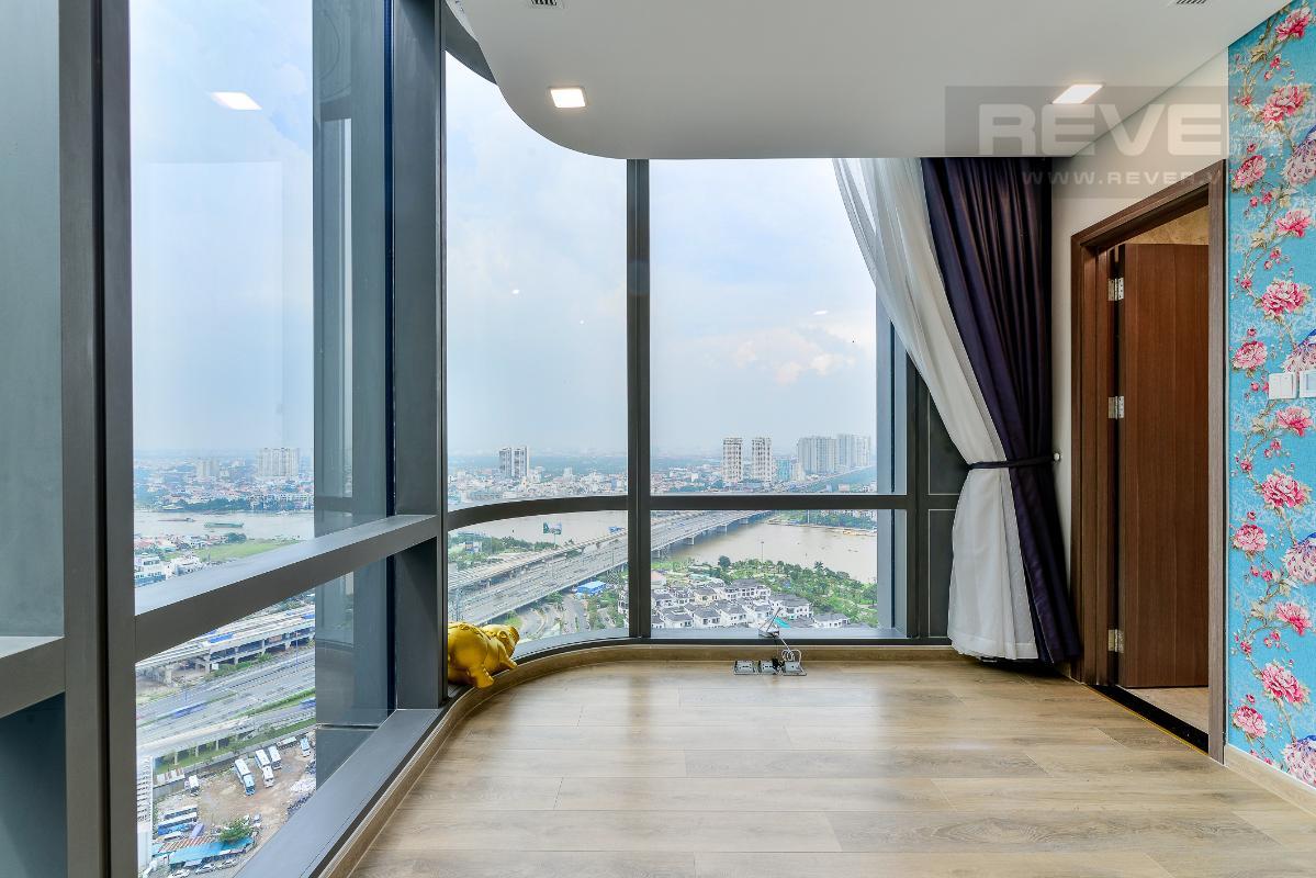 _DSC3989 Cho thuê căn hộ Vinhomes Central Park 2PN, tháp Landmark 81, nội thất cơ bản, là căn góc, view Xa lộ Hà Nội