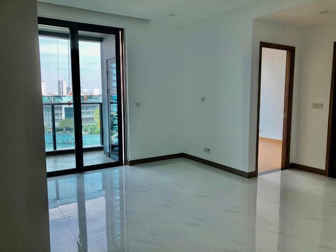 Phòng khách Sunwah Pearl, Bình Thạnh Căn hộ tầng cao Sunwah Pearl nội thất cơ bản, view thoáng mát.