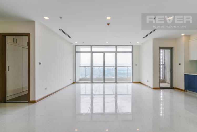 Phòng Khách Căn góc Vinhomes Central Park 4 phòng ngủ tầng cao P1 view sông