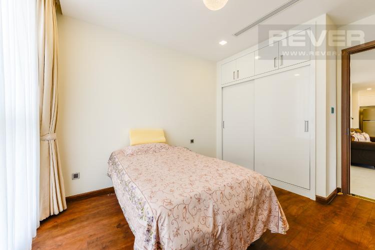 Phòng ngủ 2 Căn hộ Vinhomes Central Park 4 phòng ngủ tầng trung P3 view trực diện sông