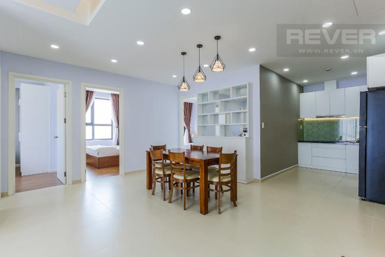 Bàn Ăn Căn hộ M-One Nam Sài Gòn 3 phòng ngủ tầng trung T1 nội thất đầy đủ