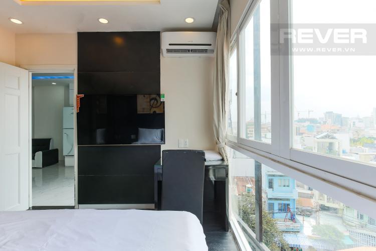 Phòng Ngủ Căn hộ dịch vụ 1 phòng ngủ đường Trần Quang Diệu đầy đủ tiện nghi