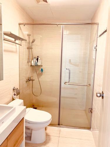 Phòng tắm căn hộ New City Thủ Thiêm Căn hộ New City Thủ Thiêm 3 phòng ngủ view nội khu yên tĩnh.