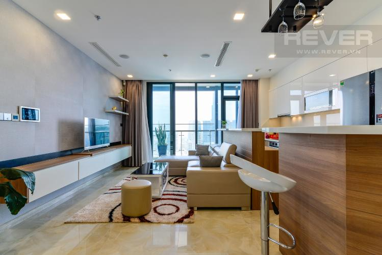 Phòng Khách Bán và cho thuê căn hộ Vinhomes Golden River tầng cao, 3PN, đầy đủ nội thất, view đẹp
