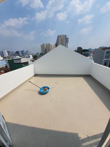 Sân thượng nhà phố Bình Thạnh Nhà phố Bình Thạnh diện tích đất 52.9m2, hướng Đông Bắc.