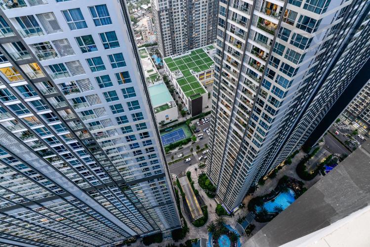 View Căn hộ Vinhomes Central Park tầng cao, tháp Park3, 2PN đầy đủ nội thất