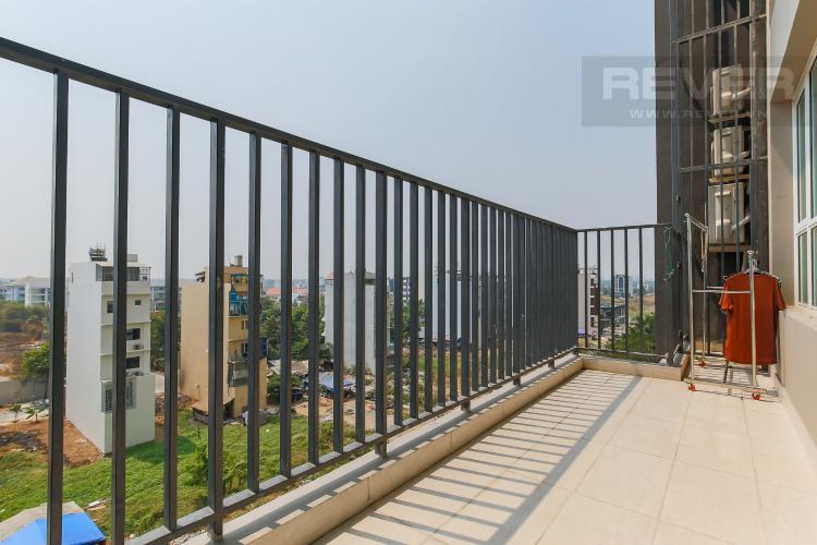 Balcony Cho thuê căn hộ Vista Verde 2 phòng ngủ, diện tích lớn, đầy đủ nội thất