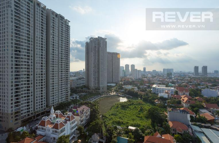 View Cho thuê căn hộ The Nassim Thảo Điền tầng trung 2PN, view sông