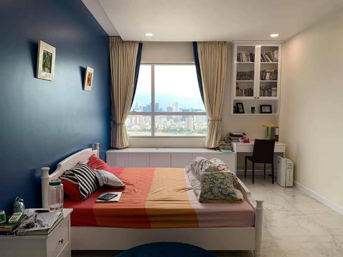phòng  ngủ căn hộ Tropic Garden Bán căn hộ Penthouse nội thất đầy đủ, view sông Tropic Garden