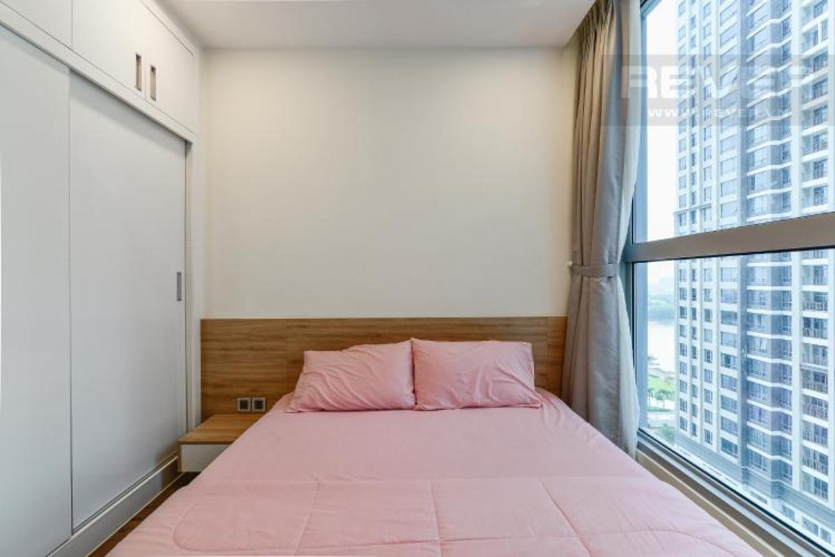 Phong ngu nho 2 Bán căn hộ Vinhomes Central Park 2PN, diện tích 72m2, đầy đủ nội thất, view sông và công viên