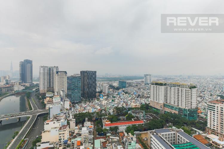 View Bán căn hộ Masteri Millennium tầng cao, view sông 2PN