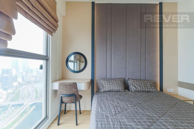 Phòng Ngủ 1 Căn hộ Masteri Millennium tầng cao, view sông, 2PN