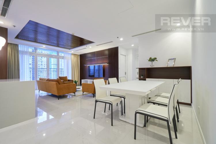 Phòng Ăn Bán căn hộ Vinhomes Central Park 3PN, tháp The Central 3, đầy đủ nội thất, thiết kế sang trọng