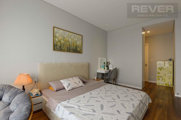 Phòng Ngủ 1 Bán căn hộ Diamond Island - Đảo Kim Cương 3PN, tầng cao, đầy đủ nội thất, view sông đón gió