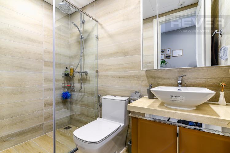 Phòng Tắm 1 Cho thuê căn hộ Vinhomes Golden River tầng cao 3PN đầy đủ nội thất view sông